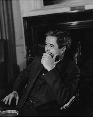 Kingman Brewster, Jr., President of Yale University, circa 1960s-1970s