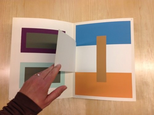 Josef Albers' Interaction of Color in Arts Library Special Collections