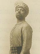 Man dressed in traditonal dress