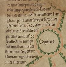 Editing manuscript