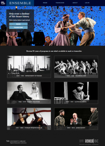 Ensemble at Yale homepage
