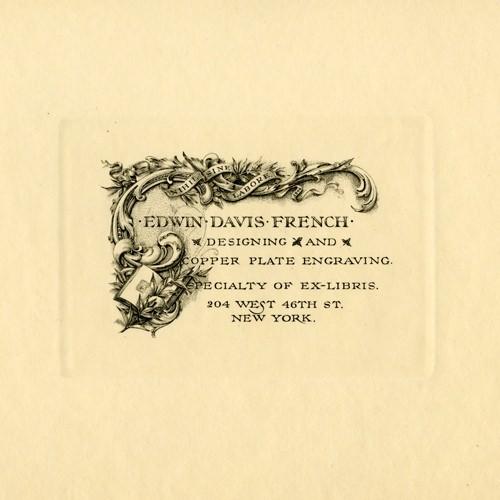 Nihil sine labore by Edwin Davis French, 1896.