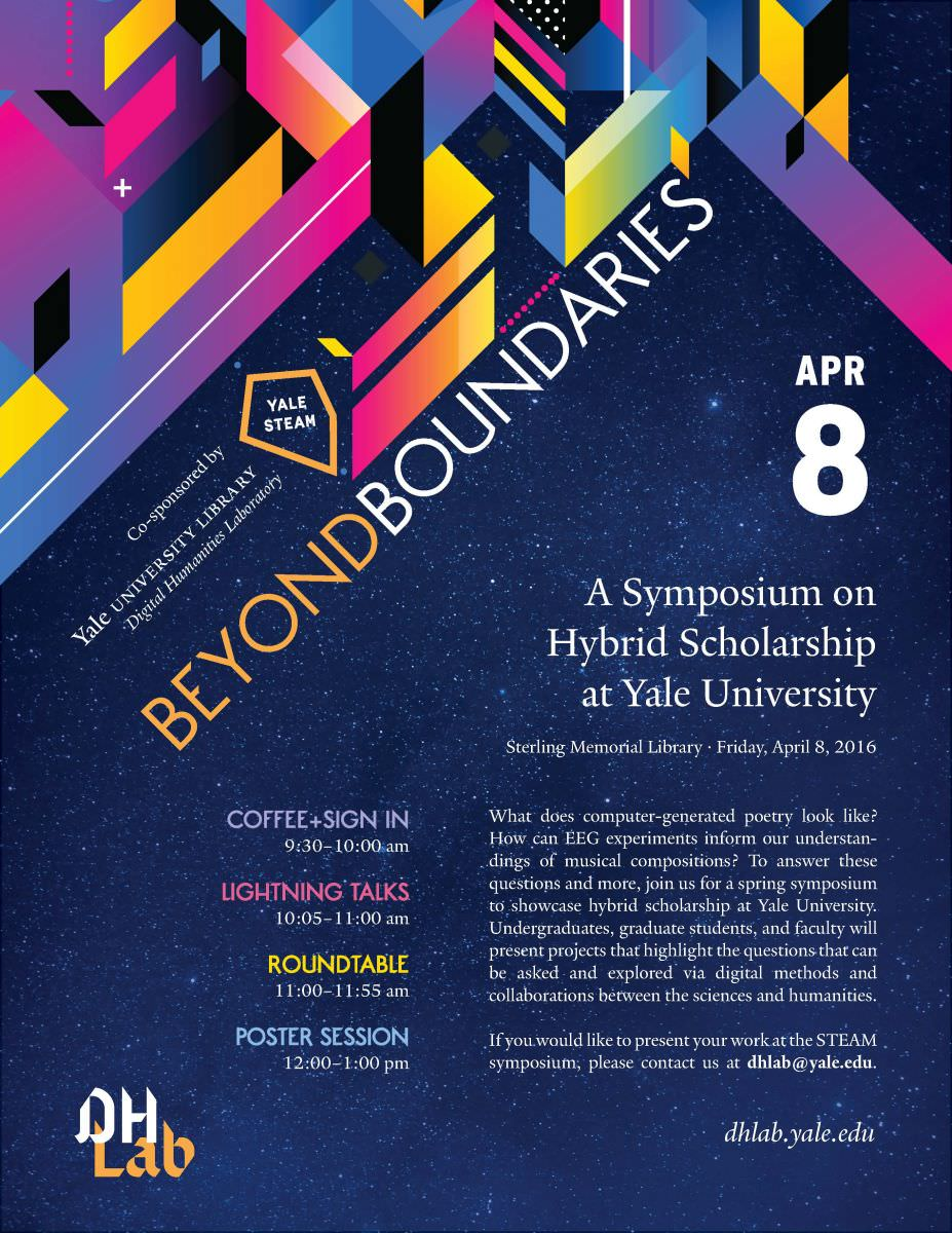 Poster design for symposium - Event Poster Roundtable Poster Program Event Recordings