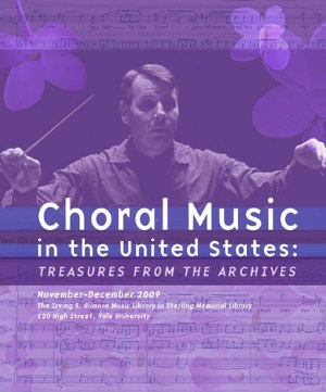 Choral Music in the United States poster