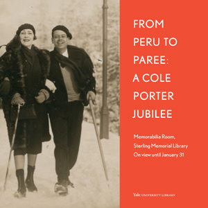 A Cole Porter Jubilee poster