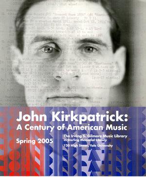 John Kirkpatrick poster