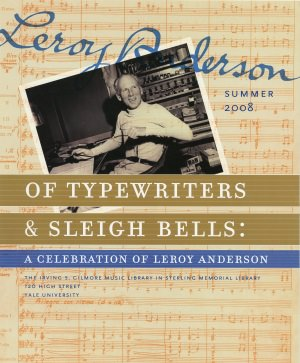 Of Typewriters and Sleigh Bells