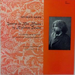 Lettres de mon moulin, Alphone Daudet ; album cover