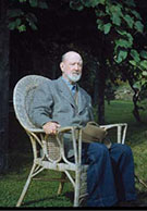 Charles Ives seated