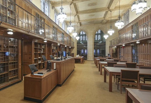 Image of the Manuscripts and Archives reading room