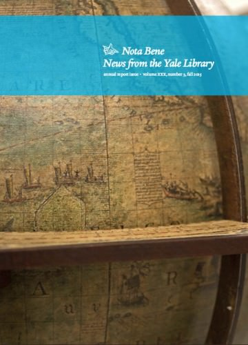 Nota Bene:  Annual Report Issue 2014-2015