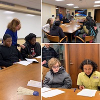 OHAM New Haven Academy visit