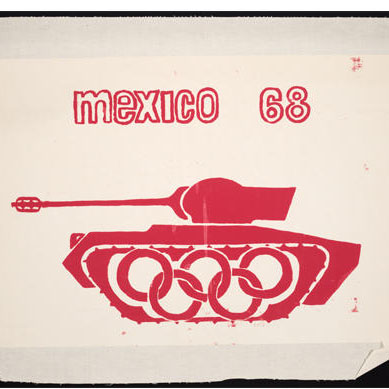 red tank Mexico 68