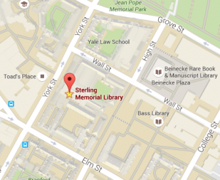 DHLab, Sterling Memorial Library, Google maps