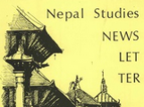 Sample image from EliScholar showing cover of Nepal Studies Association Newsletter