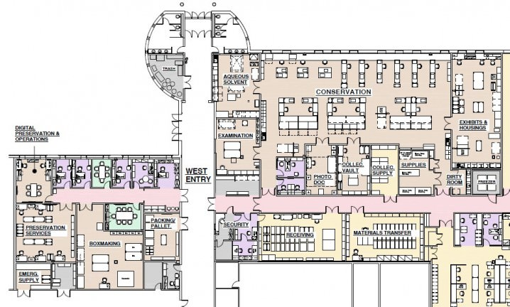 News and events yale university library for Floor plans brown university