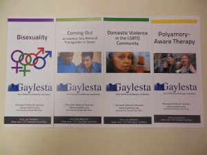 Examples of Gaylesta brochures from the Gaylesta Brochures Collection (MS 2024) in Manuscripts and Archives