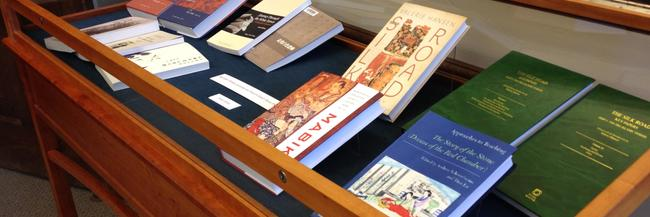 """""""Recent Publications by Yale's East Asia Faculty"""", East Asian Reading Room"""