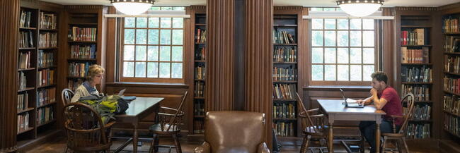 Day Missions Reading Room, Yale Divinity Library