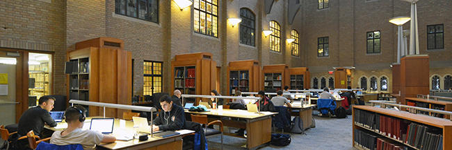Music Library Study Spaces. Photographer: Mike Marsland
