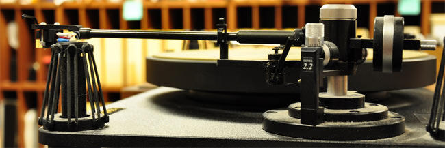 Turntable in the HSR Studio