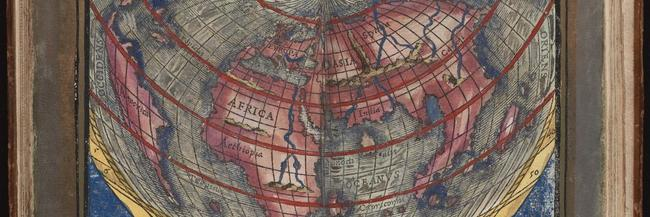Map of the World from the Rudimenta cosmographica, 1542
