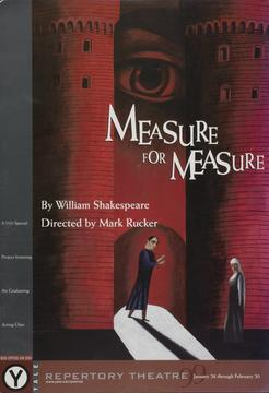 image of Measure for Measure poster