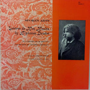 Album Cover for Lettres de Mon Moulin by Alphonse Daudet