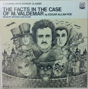 Album Cover for The Facts in the Case of M. Valdemar