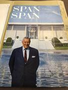 Image of U.S. Ambassador Chester Bowles at the American Embassy in New Delhi, India, cover of Span magazine, Volume VIII, number 4 (April 1967).
