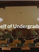 Image of Virtual Bookshelf of Undergraduate Publications website