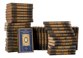 Image of the volumes of Chronicles of America series published by Yale University Press