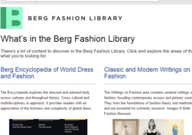 Berg Fashion Library