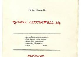 Broadside printed at The Bibliographical Press, 1928