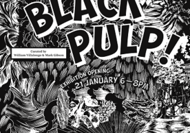 Black Pulp Exhibition Poster