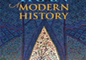 Cover of the book Iran: A Modern History by Professor Abbas Amanat, this month's Arts and Humanities Book Talk.