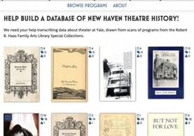 Yale Digital Humanities Lab, Public Humanities, Ensemble project