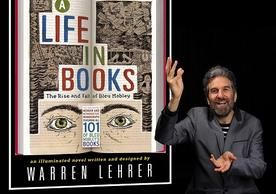 "Warren Lehrer performs ""A Life in Books"""
