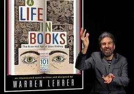 "Warren Lehrer performs ""A Life in Books"""