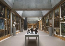 Yale Center for British Art, fourth floor, Long Gallery following reinstallation, photograph by Richard Caspole