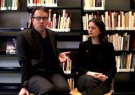 American architects Michael Meredith and Hillary Sample, founders and directors of MOS