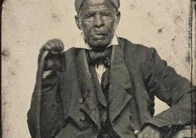 Omar ibn Said, renowned Muslim scholar and African American slave (c. 1850)