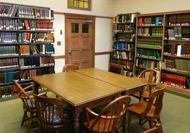 Arabic & Islamic Reading Room