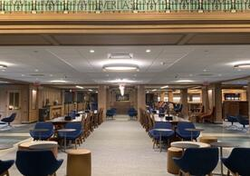Bass Library - Concourse Level Study Area