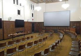 standard wide lecture seating
