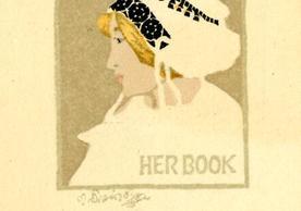 [I.V.P. Her Book] by Vojtěch Preissig, 1914, 7.7 x 5.5 cm.