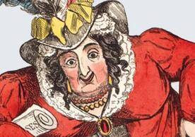 Queen Caroline cartoon image