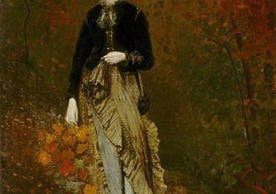 Winslow Homer, Autumn, 1877.