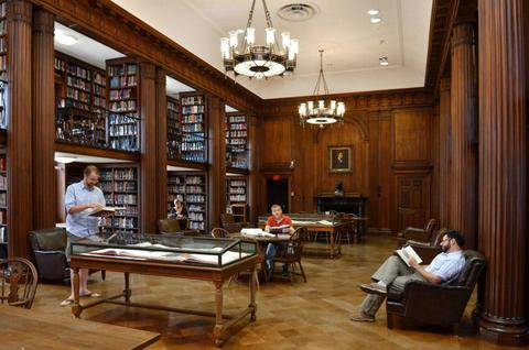 Medical Science Library Study Rooms