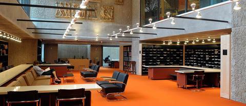 Haas Library Study Room